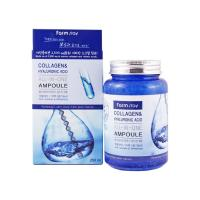 Ампульная сыворотка для лица Farm Stay Collagen & Hyaluronic Acid All In One Ampoule