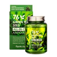 Сыворотка для лица Farm Stay 76 Green Tea Seed All In Ampoule