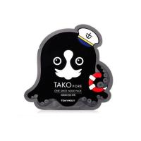Патч от черных точек Tony Moly Tako Pore One Shot Nose Pack