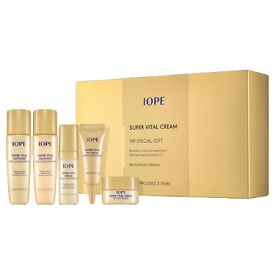 Набор мини-версий Iope Super Vital Cream VIP Special Gift 5items