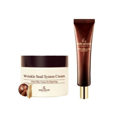 Крем для лица The Skin House Wrinkle Snail System Cream